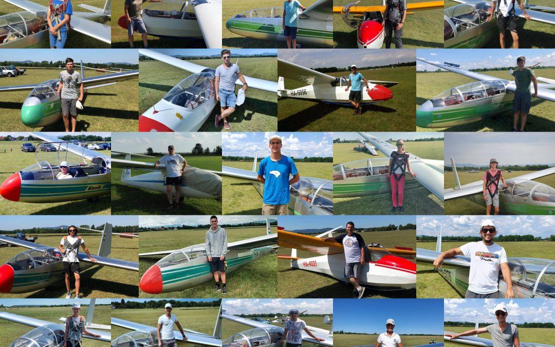 107 óra a levegőben – 2020 júliusi repülőtáborunk beszámolója